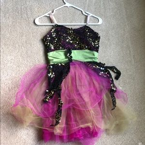 Sequin Tulle Dance Costume